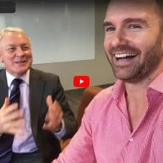 Phil Goff with Cato Bolam - leaders of our industry